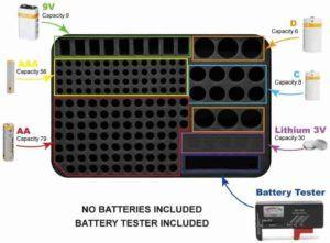 Get new range battery organizer at lowest price.