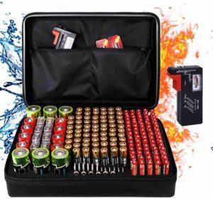 Shop battery storage organiser for home.