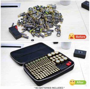 Buy the best battery organizer storage case online at lowest price.