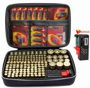 Good price for 180 deluxe battery organizer with tester online in United States, Canada, Australia, New Zealand, United Kingdom, France, Germany, Italy, Spain, Poland, Ukraine, Netherlands.