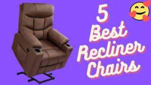 Checkout 5 best electrical power lift medical recliner sleep bedroom chairs for elderly senior people online.